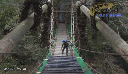 ~日常の風景の中で~「かずら橋架け替えの様子」
