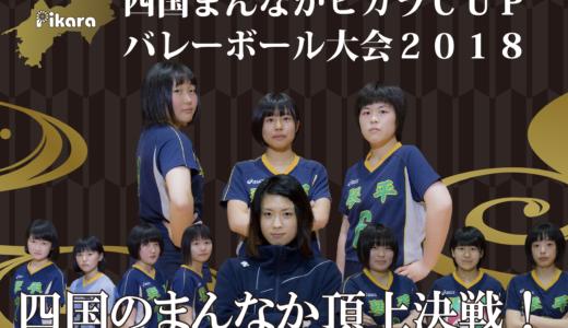 四国まんなかピカラCUPバレーボール大会2018