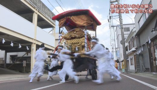 (取材日:10月17日、取材地:杉尾神社、池田町内)