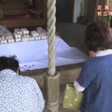 (取材日:4月21日、取材地:杖立神社)