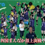 四国まんなかピカラCUPバレーボール大会2019放送日程