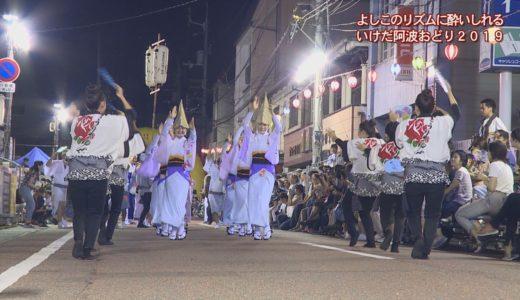 (取材日:8月13、16日、取材地:池田総合体育館、栄町通)