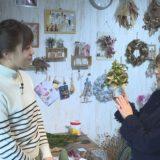 今日からサ~クルはじめませんか?12月プリザーブドフラワーでクリスマスツリー