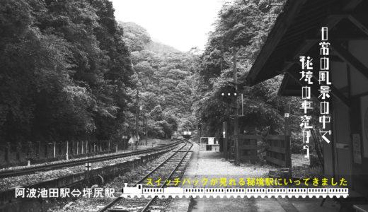 日常の風景の中で:阿波池田駅⇔坪尻駅 秘境の車窓から